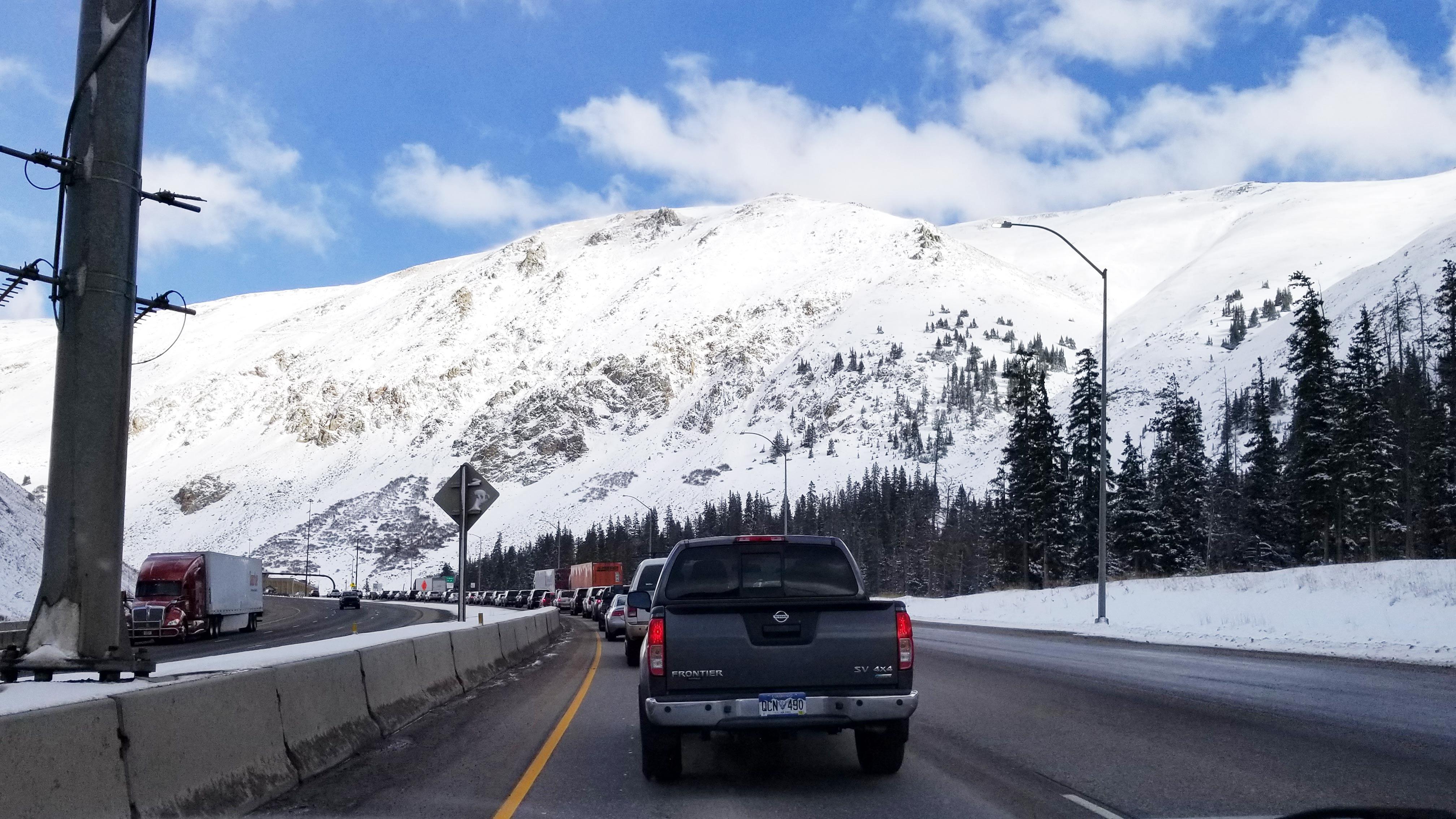 Colorado Road Conditions on the I-70 - SnowPak
