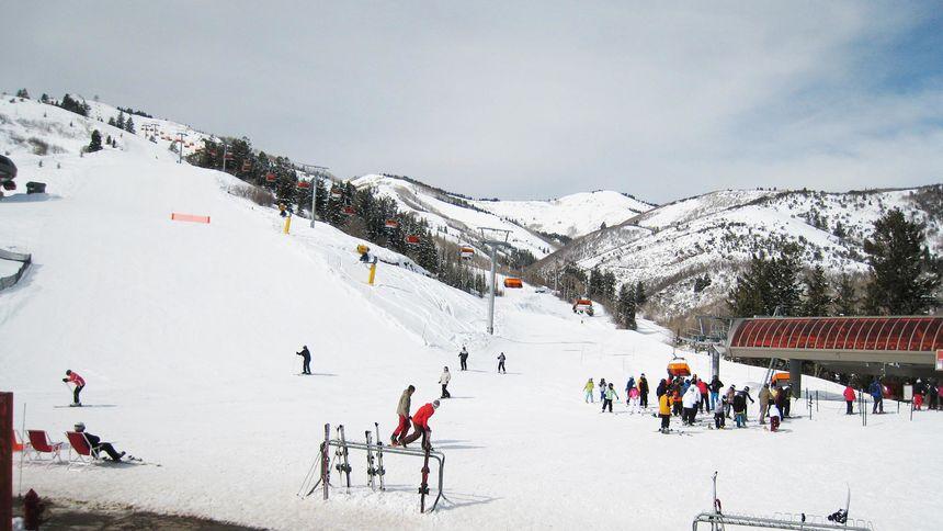 Park City resort terrain view