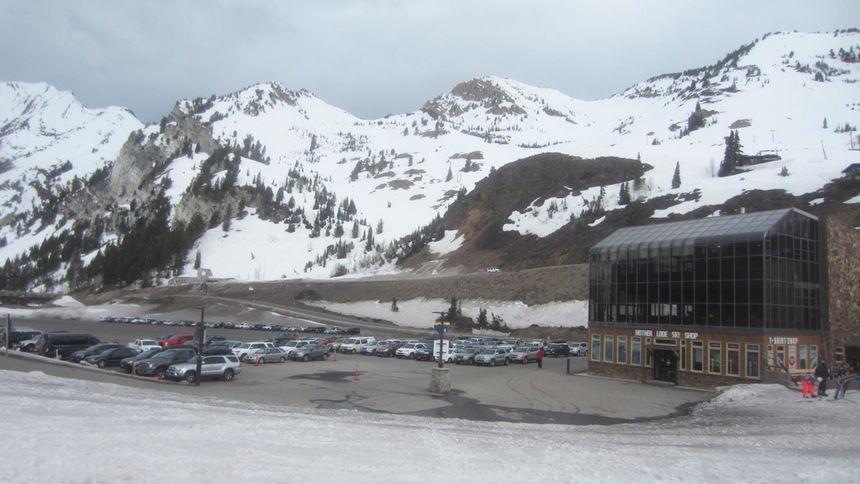 Alta Ski Resort car park