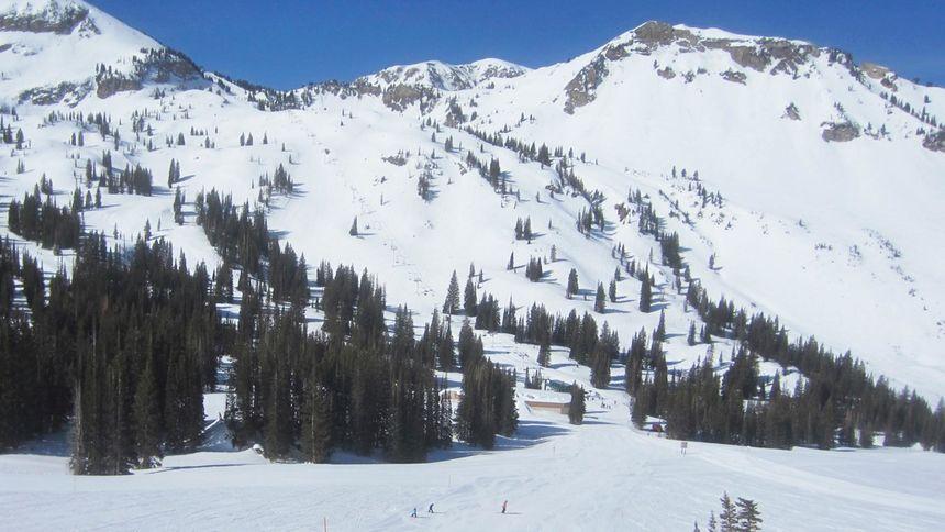 Alta Ski Resort epic terrain for beginners