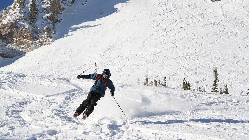 Alta Ski Resort epic terrain for intermediates