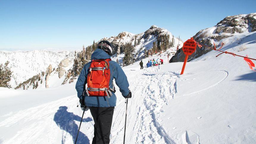 Alta Ski Resort epic terrain