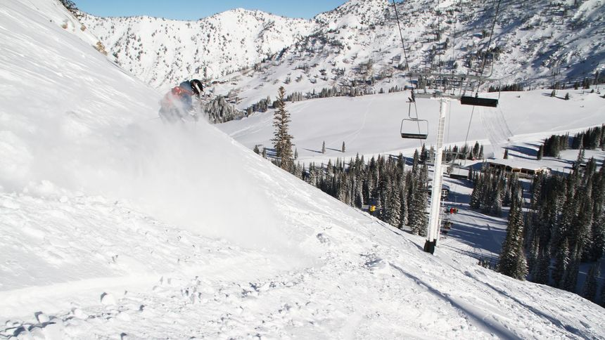 Alta Ski Resort epic terrain for advanced
