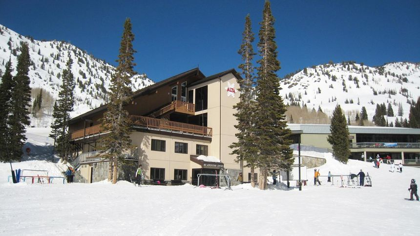 Alta ski lesson activities