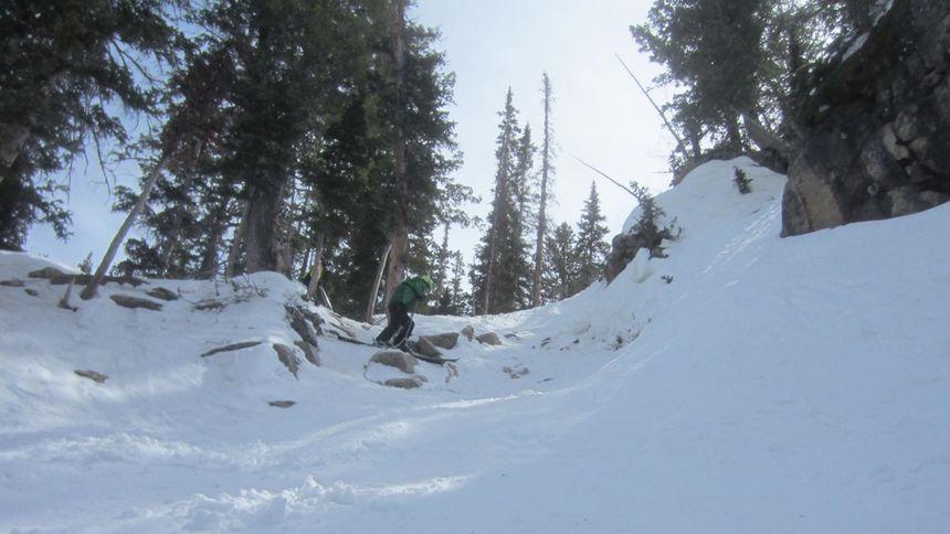 Snowbird ski terrain