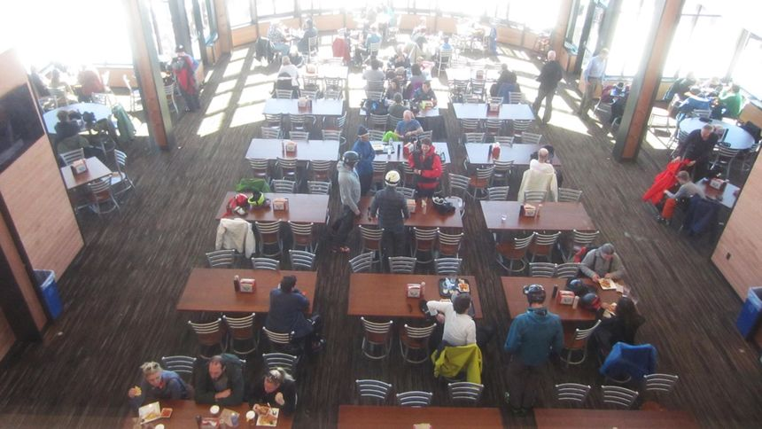 Snowbird ski resort restaurants