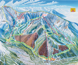 Taos Ski Valley map