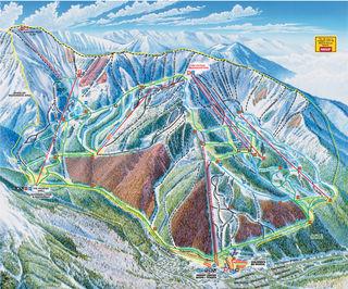 Taos Ski Valley trail map