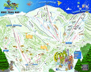 Smugglers' Notch Resort map