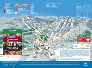 Windham Mountain map