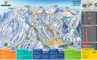 Snowbasin trail map