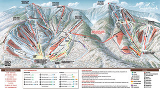 Sugarbush Resort map