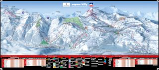 Tignes map