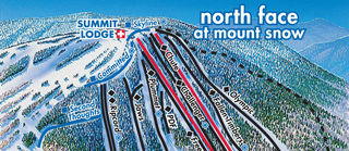 Mount Snow map