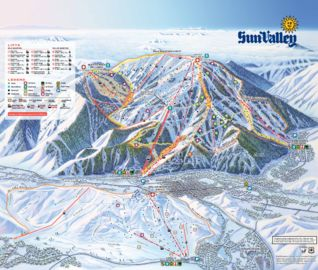 Sun Valley map