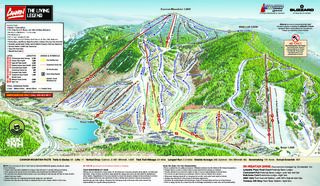 Cannon Mountain map