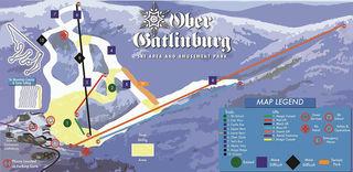Ober Gatlinburg Ski Resort trail map
