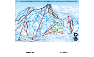Coronet Peak trail map