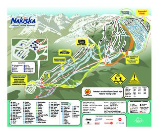 Nakiska map