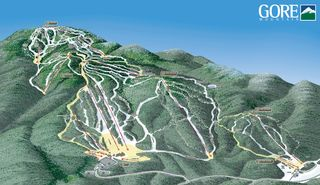 Gore Mountain map