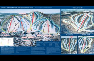 Crystal Mountain map