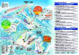 Sapporo Teine map