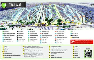 Peek'n Peak trail map
