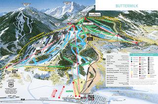 Buttermilk trail map