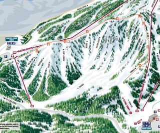 Mount Rose - Ski Tahoe map