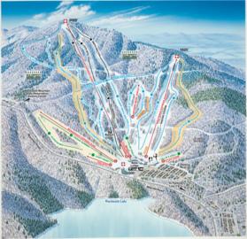 Wachusett Mountain map