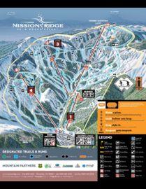 Mission Ridge trail map