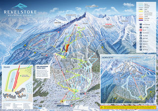 Revelstoke Mountain Resort map