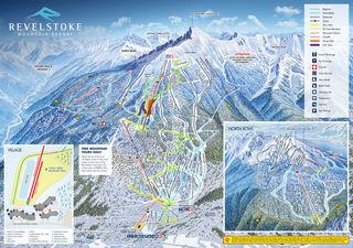 Revelstoke Mountain Resort trail map