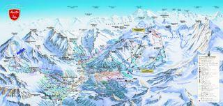 Saas-Fee map