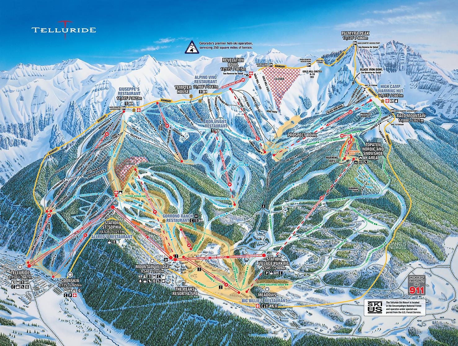 telluride: 36 ski resort reviews & top tips 2018/19 - snowpak