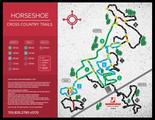 Horseshoe Resort map