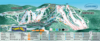 Seven Springs Mountain Resort map