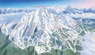 Big Sky Resort trail map