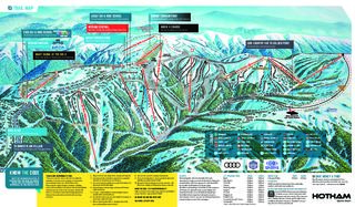 Mount Hotham trail map