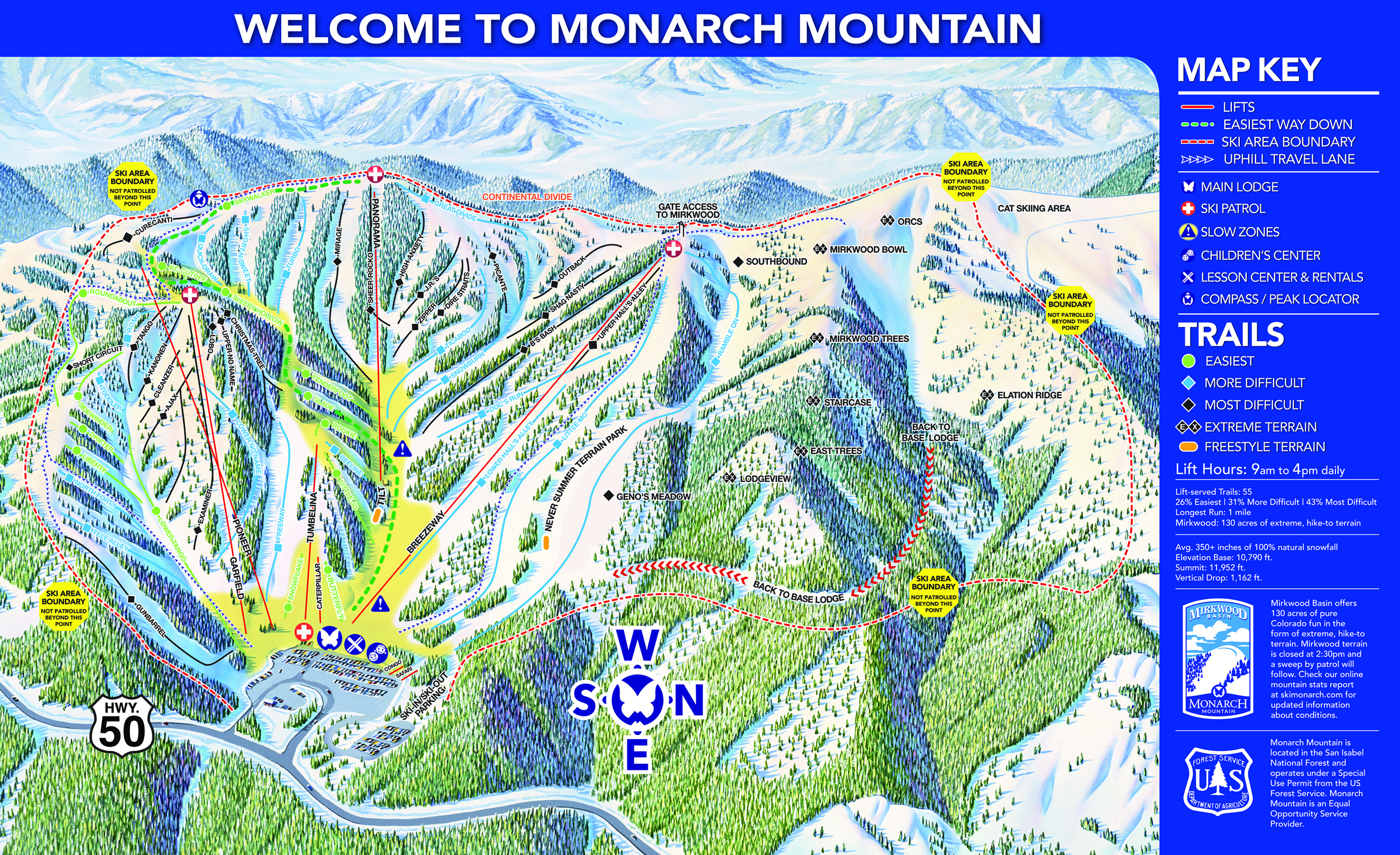 100 Keystone Resort Map Trail Map Guides Skiing