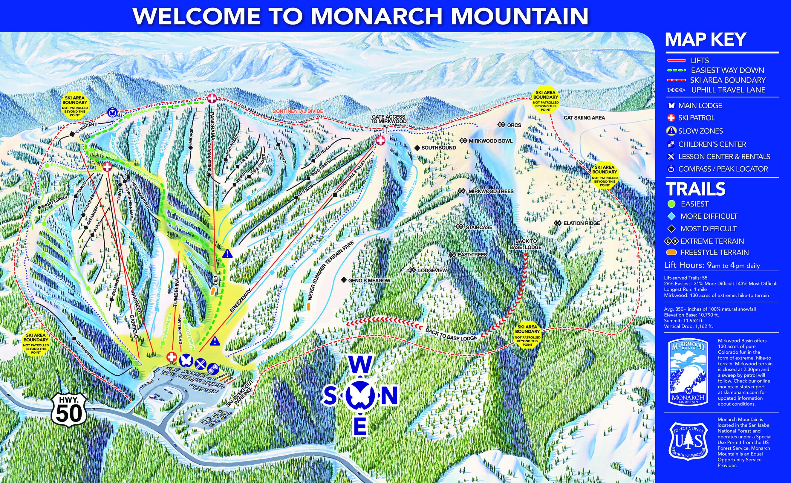 Monarch Mountain 10 Reviews Amp Top Tips 2017 18 Snowpak