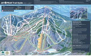 Jay Peak map