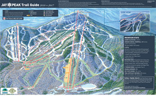 Jay Peak trail map