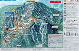 Northstar California trail map