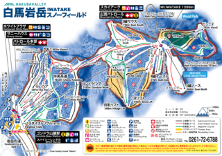 Iwatake trail map