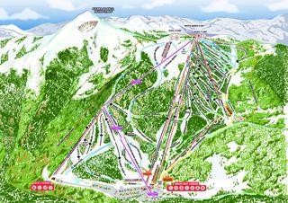Ski Apache map