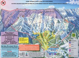 Bridger Bowl trail map