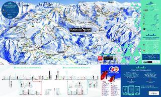 Morzine trail map