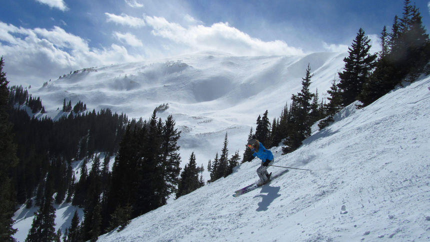 triple zero on spaulding bowl copper mountain