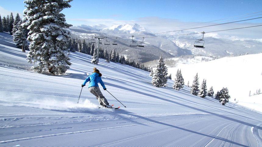 Terrain at Vail ski resort